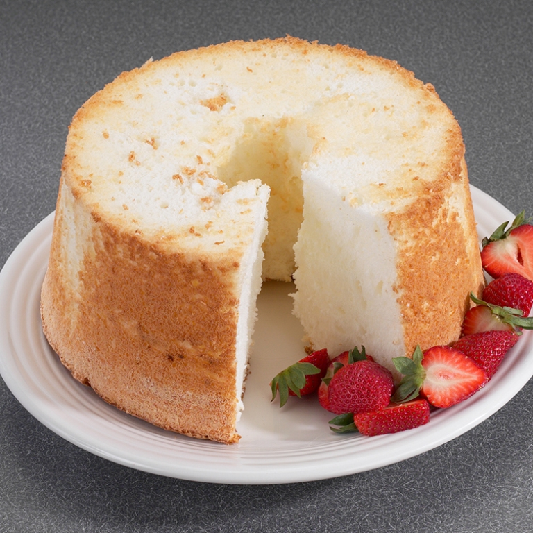 Angel Food Cake In Springform Pan